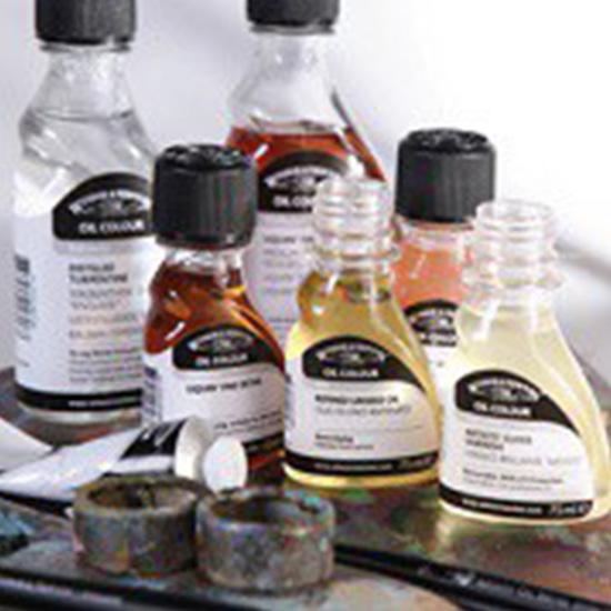 Mediums, Solvents and Varnishes