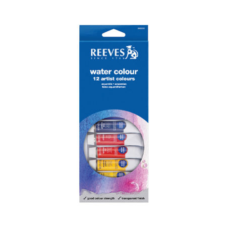 Reeves Paint Set: Water Colour 12ml