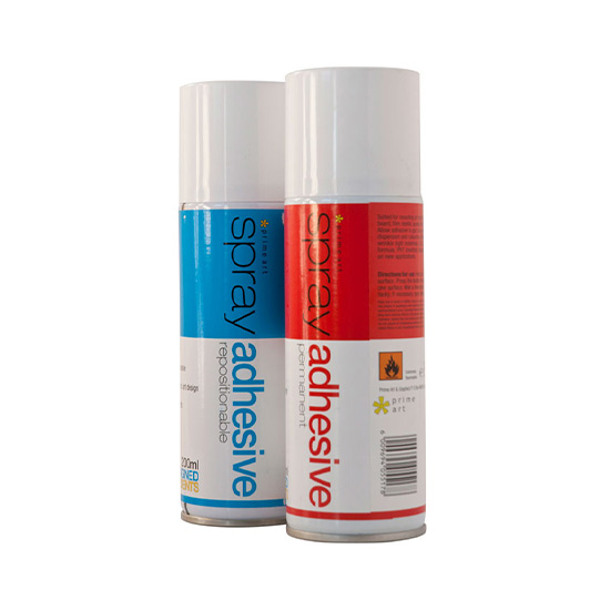 Prime Art Repositional Spray Glue 200ml