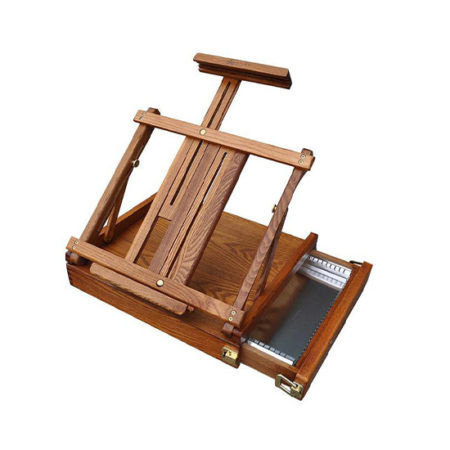Renoir Table Box Easel with metal tray