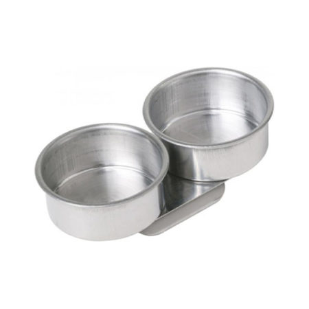 Double Dippers Stainless Steel