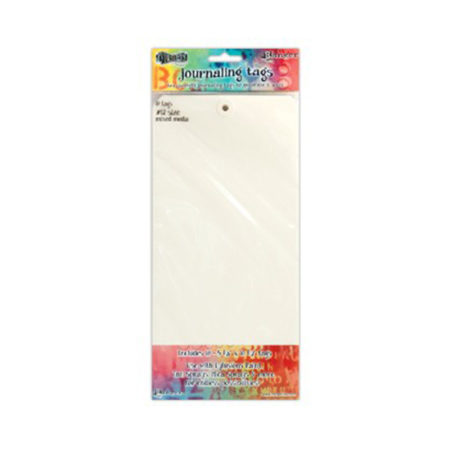 Dylusions Media Paper Tags No.12