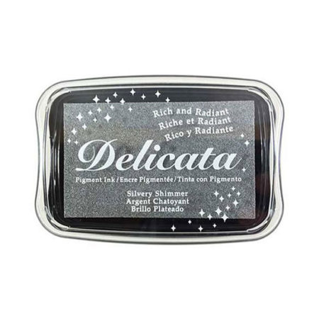 Silvery Shimmer Delicata Ink Pad