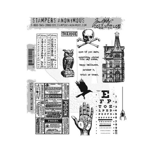 Mini Halloween 5 Stamp Set