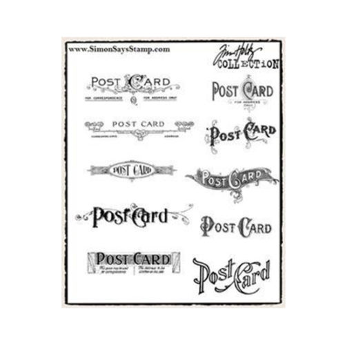 Postcards Stamp Set