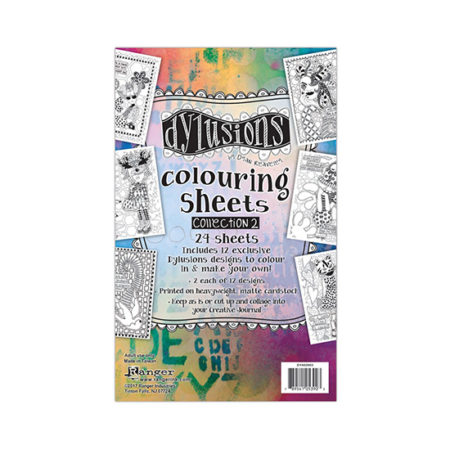 Dylusions Colouring Sheets: Collection 2