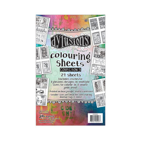 Dylusions Colouring Sheets: Collection 3