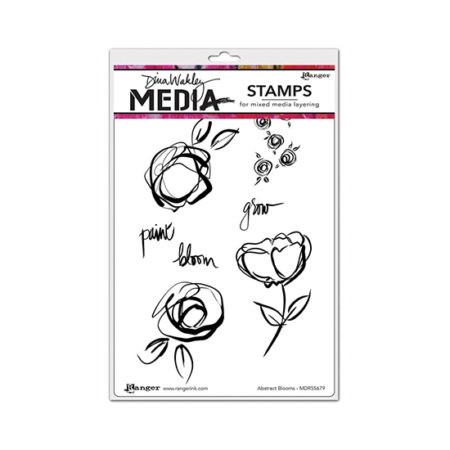 Abstract Blooms Stamp Set