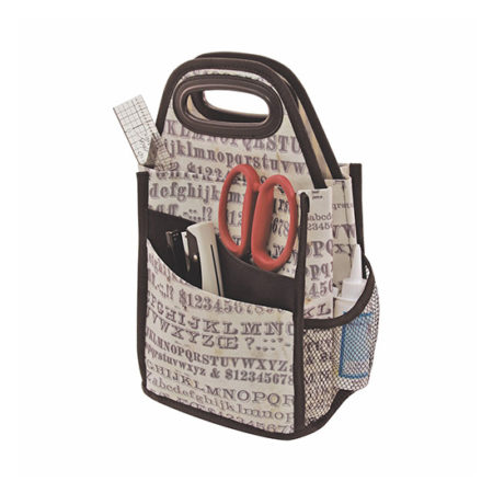 Spinning Tote Typography