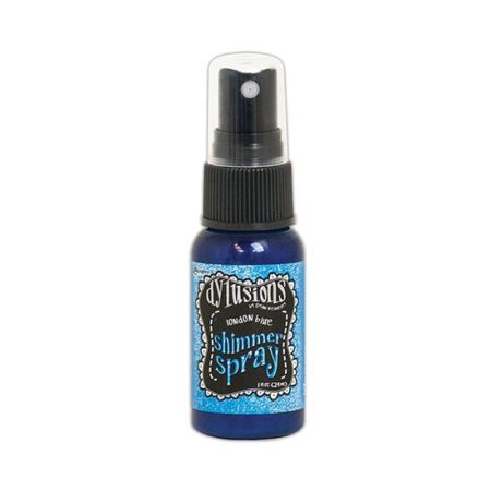 Dylusions Shimmer Spray: London Blue