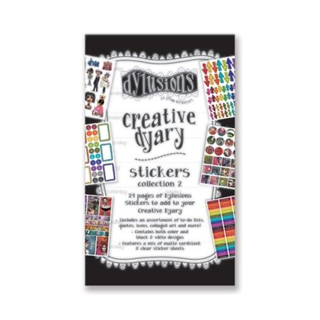Dylusions Creative Dyary Sticker Book 2