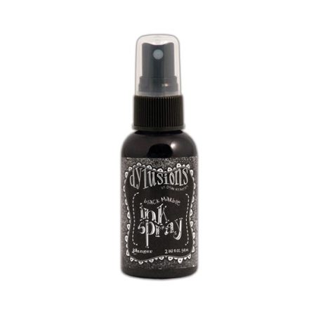 Black Marble Dyslusions Ink Spray