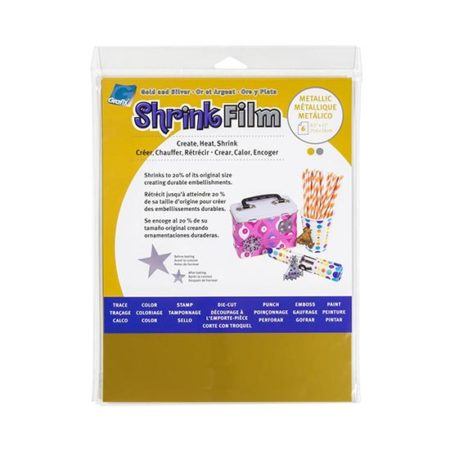 Shrink Film (gold and silver)