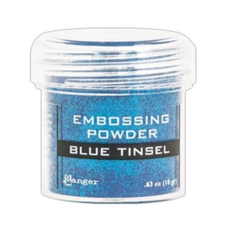 Ranger Speciality Embossing Powder :Blue Tinsel