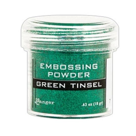Ranger Speciality Embossing Powder : Green Tinsel