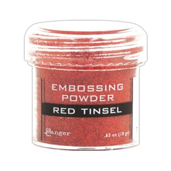 Ranger Speciality Embossing Powder : Red Tinsel