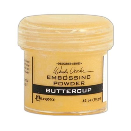 Wendy Vecchi Embossing Powder : Buttercup