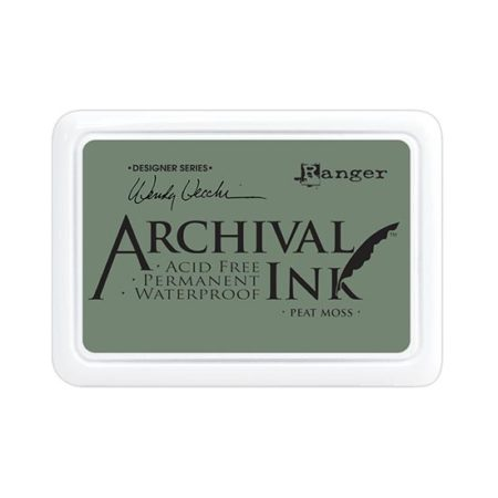 Peat Moss Archival Ink Pad: Wendy Vecchi