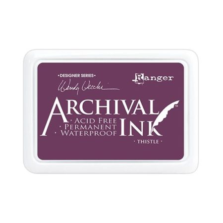Thistle Archival Ink Pad: Wendy Vecchi