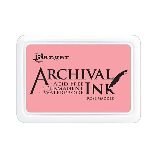 Rose Madder Archival Ink Pad