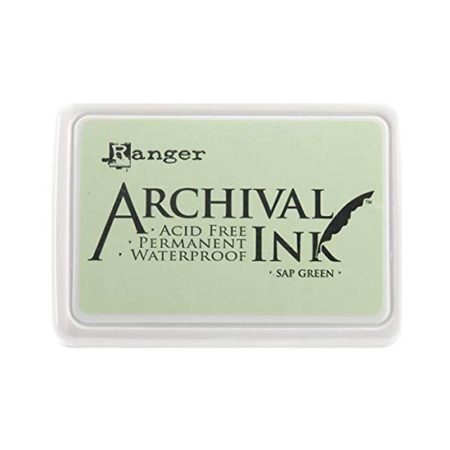Sap Green Archival Ink Pad