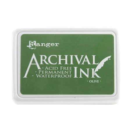 Olive Green Archival Ink Pad