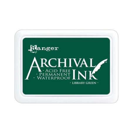 Library Green Archival Ink Pad