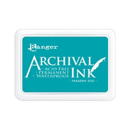 Paradise Teal Archival Ink Pad