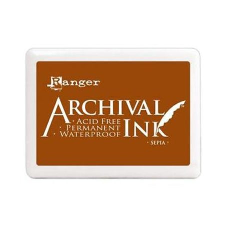 Sepia Archival Ink Pad