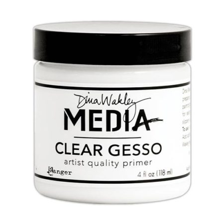 Clear Gesso 4oz Dina Wakely