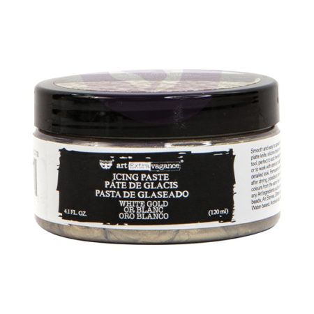 White Gold Icing Paste
