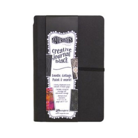Dylusions Creative Journal Black Small