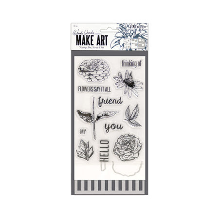 Stamp, Die and Stencil Set: Flowers Say It All