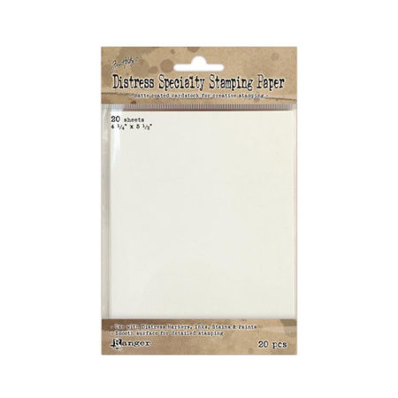 """Tim Holtz Distress Speciality Stamping Paper (4,25"""" x 5,5"""")"""