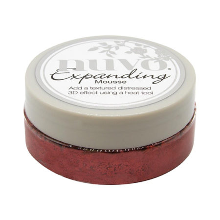 Red Leather Nuvo Expanding Mousse
