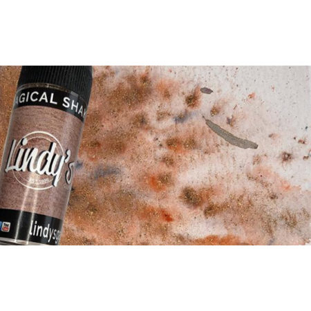 Aged Copper Lindys Stamp Gang Magical Shaker
