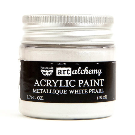 White Pearl Acrylic Paint