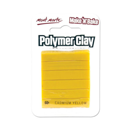Mont Marte Polymer Clay: Cadmium Yellow