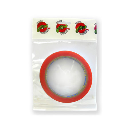 High Tack 6mm x 10m Red Double Sided Tape