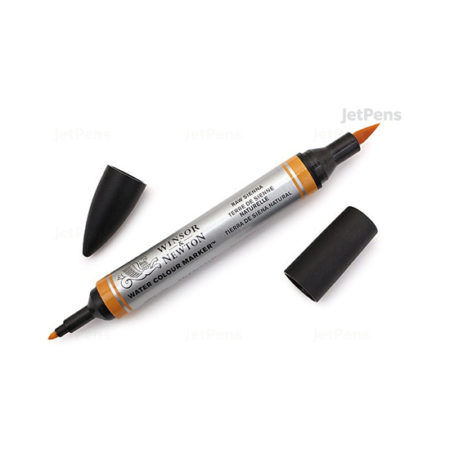 Raw Sienna Winsor and Newton Watercolour Marker