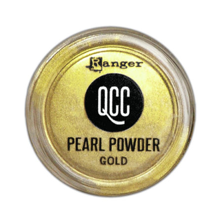 Quickcure Pearl Powder: Gold