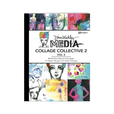 Dina Wakley Mixed Media Collage Collective 2 Volume 2
