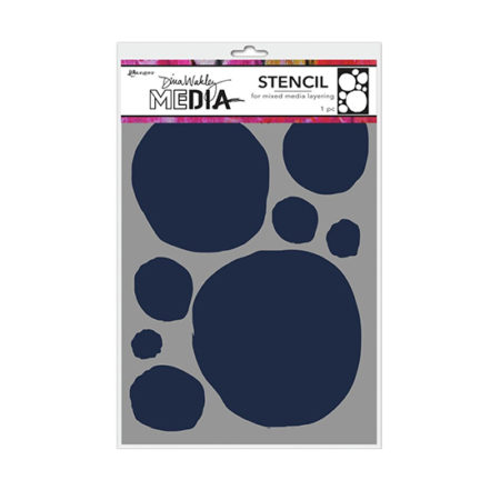 Dina Wakley Stencil: Circles for Painting