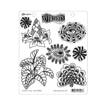 Foliage Fillers Dylusions Stamp Set