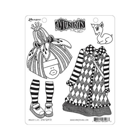 Maisie Lilly Dylusions Stamp Set