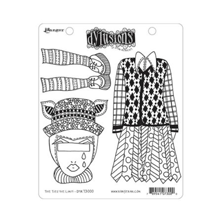 The Ties The Limit Dylusions Stamp Set