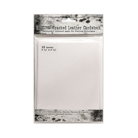 """Tim Holtz Cracked Leather Cardstock 4.25"""" x 5.5"""""""
