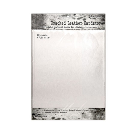 """Tim Holtz Cracked Leather Cardstock 8.5"""" x 11"""""""
