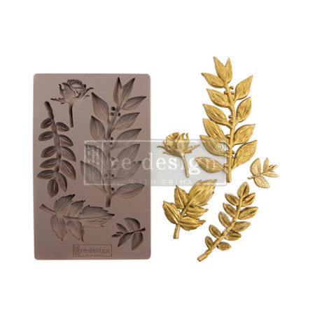 Leaft Blossoms Prima Finnabair Mould