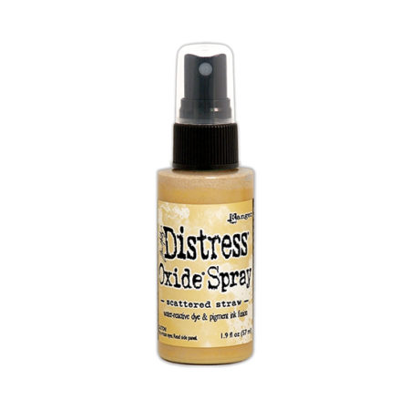 Scattered Straw Distress Oxide Spray